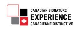 Canadian Signature Experience logo through Destination Canada