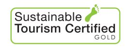 Sustainable Tourism Gold cerified