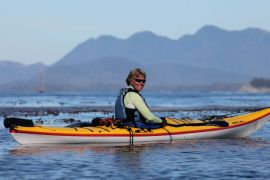 sea kayaking in scenice west coast waters