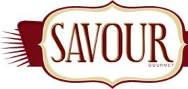 logo for Savour Gourmet Magazine
