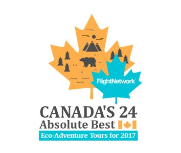 Canada's best eco-tour in 2017