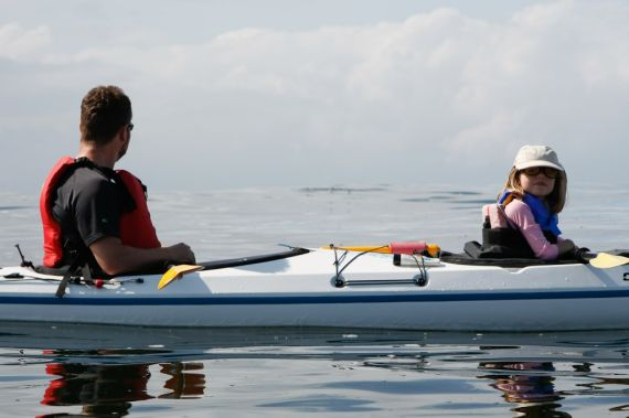 Sea Kayaking Family Vacation Packages with West Coast Expeditions