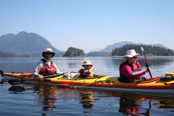Family Kayaking Vacation Packages with West Coast Expeditions