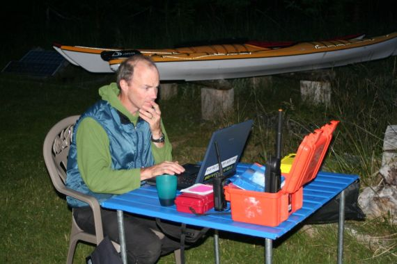Base Camp Kayaking Bookings at Spring Island, Kyuquot, Vancouver Island