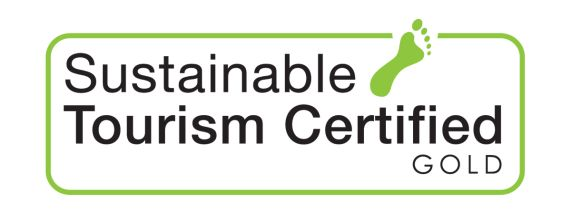 Sustainable Tourism Gold Award logo