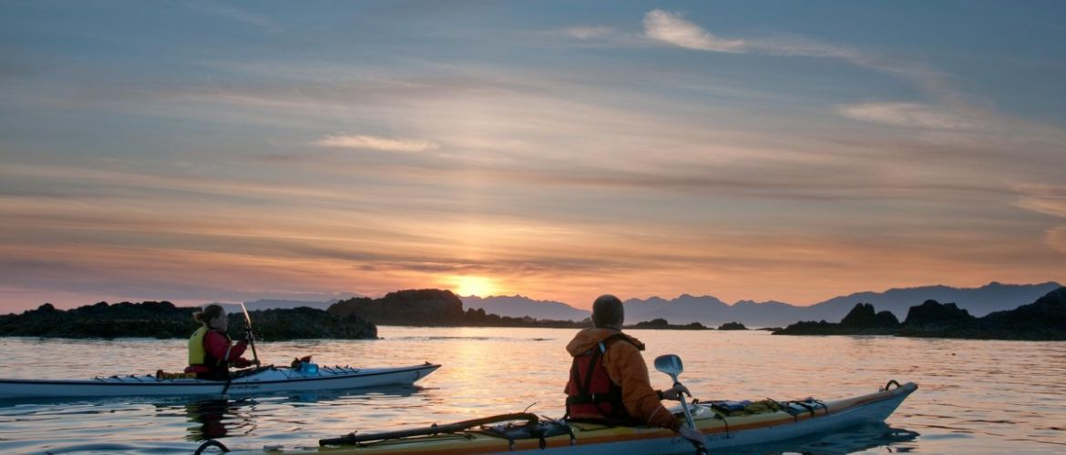 Sunset Sea Kayaking West Coast Vancouver Island