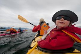 Family Kayaking Vacation Packages on the Coastal Waters of Vancouver Island