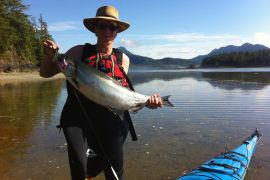 Sea Kayak Fishing Tour - Base Camp