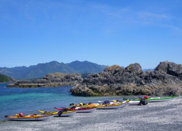 Guided Sea Kayaking Expeditions with West Coast Expeditions