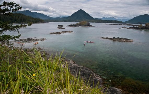 Kayakers Paradise - with West Coast Expeditions