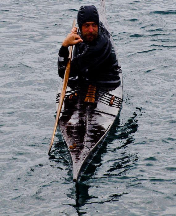 James Manke - Greenland paddling instructor