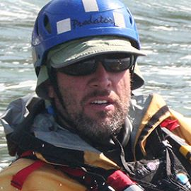 kayak guide Michael Pardy