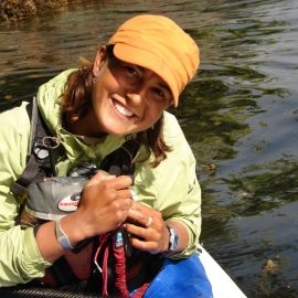 Serina Bain - West Coast Expeditions guide and interpreter