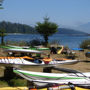 Base Camp Sea Kayaking Adventure Tours with West Coast Expeditions