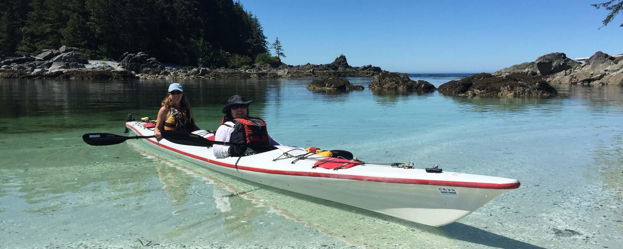 vancouver island sea kayaking tours & canadian wilderness retreat